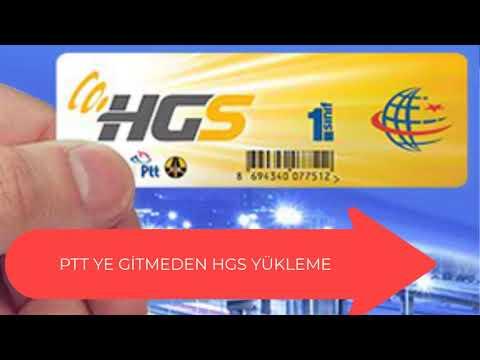 PTT'YE Gitmeden HGS Bakiye Yüklemesi Nasıl Yapılır? Ücretsiz HGS BAKİYE YÜKLEME? #PTT #HGS