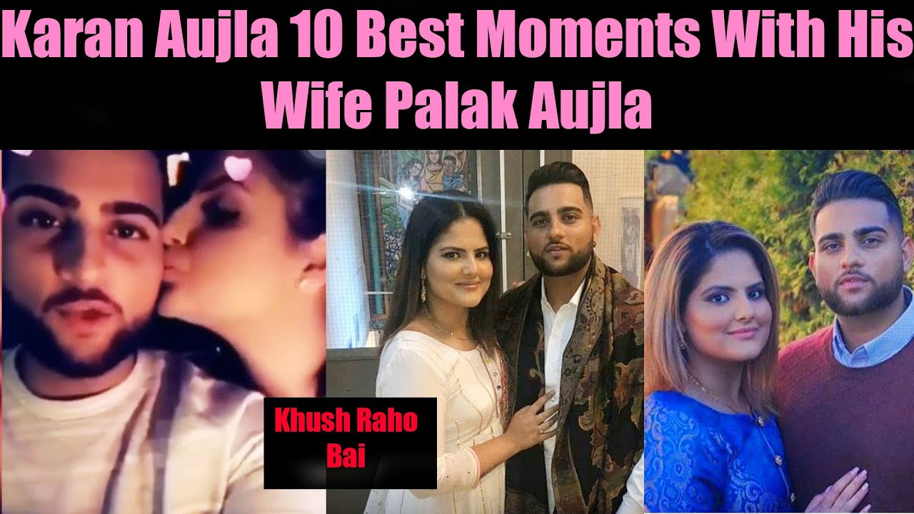 Karan Aujla 10 Best Moments With His Wife
