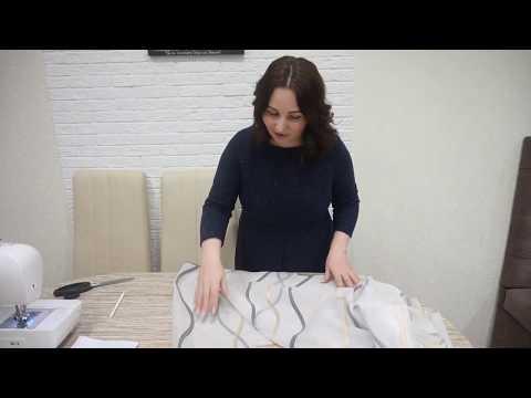 Как сшить ламбрекен для штор своими