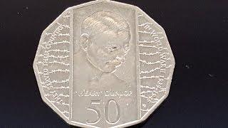 Australia 50 cents 1995 Weary Dunlop