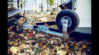 Простые вещи. Опорное колесо для прицепа с поворотным кронштейном.