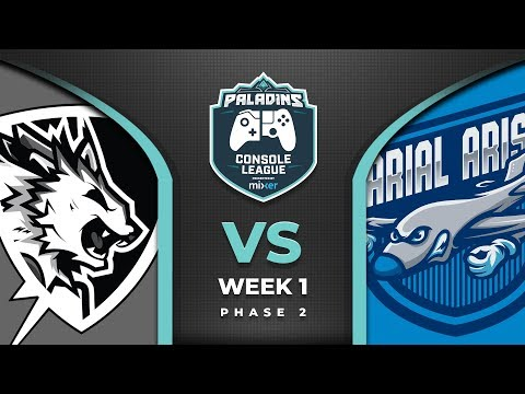 PCL 2019 - Europe PS4 - Phase 2 - Week 1 - Flash Point Vs Arial Arise