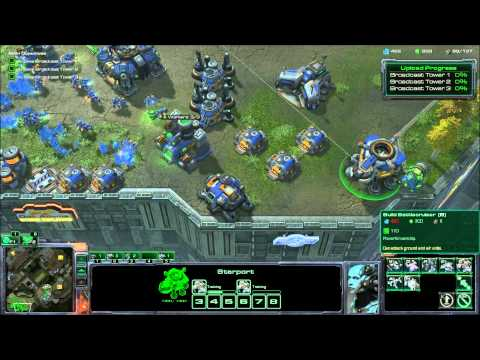 Let's Play Starcraft 2 Wings of Liberty 25: Media Blitz
