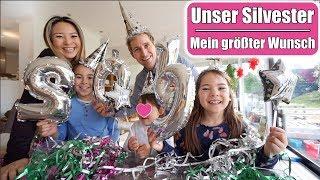 Frohes neues Jahr 2019 😍 Mein Mädchentraum wird wahr! Silvester mit 3 Kindern feiern | Mamiseelen