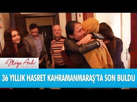 36 yıllık hasret Kahramanmaraş'ta son buldu - Müge Anlı İle Tatlı Sert 11 Aralık 2017