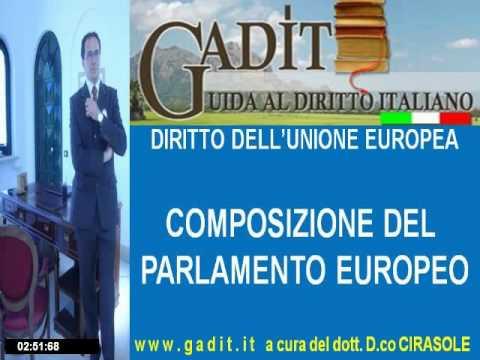 3 2 composizione del parlamento europeo youtube