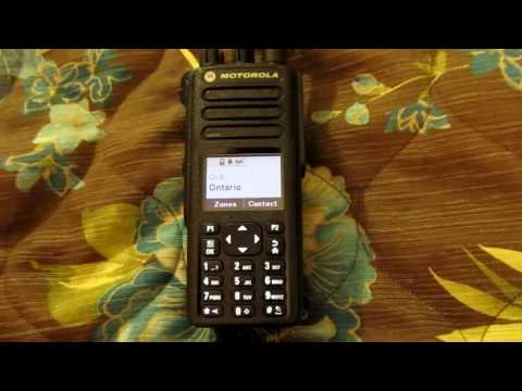 Introduction to DMR radio, with Motorola XPR 7550, Part 2