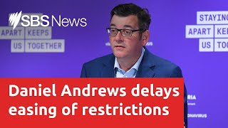 Victorian Premier Daniel Andrews to give a COVID-19 update I SBS News