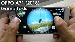 OPPO A71 2018 Gaming Tests