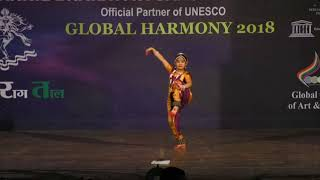 ABSS 2018 Bharatanatyam - First Prize Solo Jr