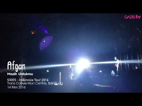 Afgan - Masih Untukmu (Live at SIDES - Indonesia Tour 2016)