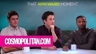 The Awkward Moment Cast Takes Cosmo's Sex Position or Cocktail Quiz | Cosmopolitan
