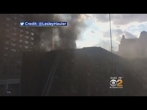 Fire Rips Through Greenwich Village Building