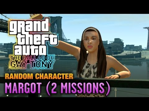 GTA: The Ballad Of Gay Tony - Random Character #2 - Margot [2 Missions] (1080p)