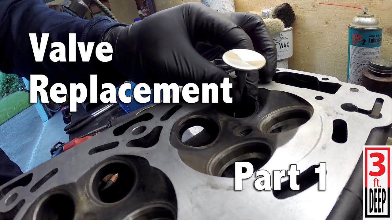 How To Sea Doo 4 Tec Engine Valve Replacement Part 1 Of 2 Youtube