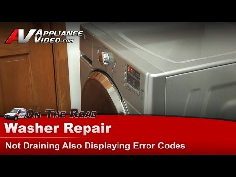 how to get error code from maytag bravos quiet series