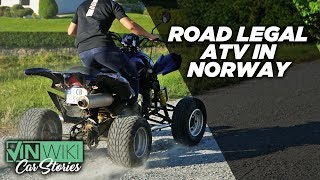 Daily driving a road legal ATV in Norway
