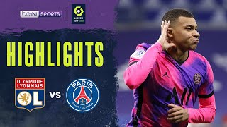 Lyon 2-4 PSG   Ligue 1 20/21 Match Highlights
