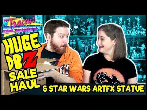 Huge Dragon Ball Z (& a Little Star Wars) Sale Haul from Barnes & Noble!