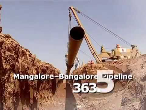 The Mangalore to Bangalore Pipeline Project