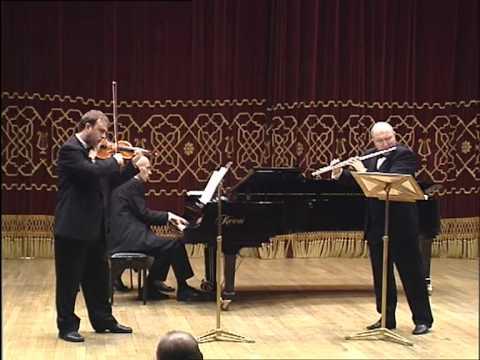 Ion Bogdan Ștefănescu  - Martinu - Sonata for flute, violine, piano