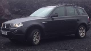 BMW X3 (E83)  1 - Warning lights Brake, ABS, and 4X4 lights, transfercase problems