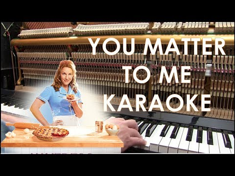 You Matter To Me piano cover karaoke