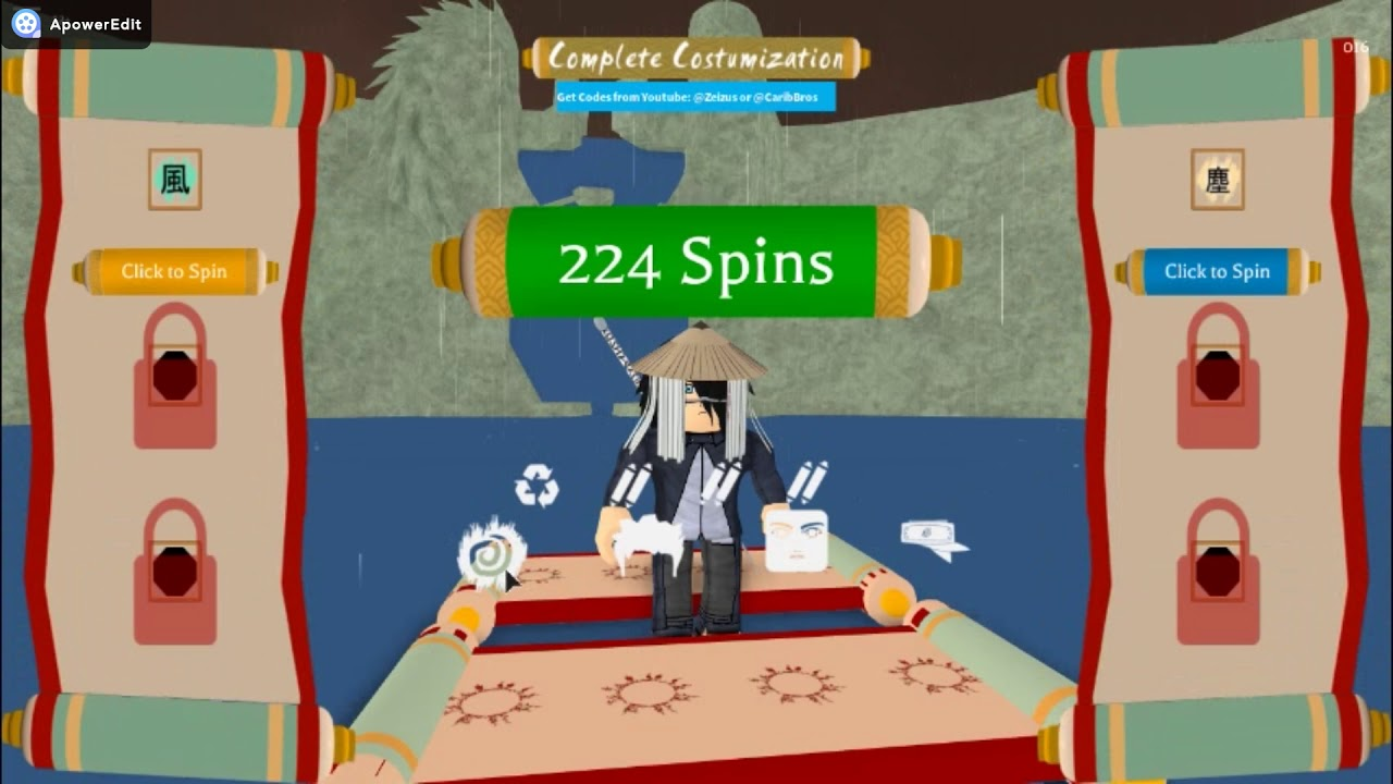 Roblox Shinobi Life Codes And Spins By Zmetroplayz T
