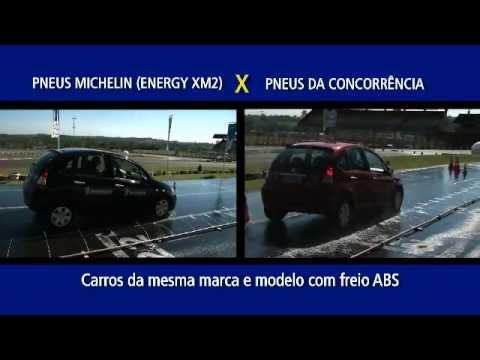 Michelin Energy XM2 - Teste de Frenagem e Testemunhais dos Consumidores