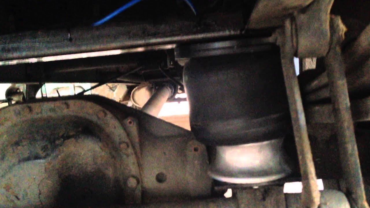 Пневмо подушка кабины Рено Премиум и Керакс SK121051A - YouTube
