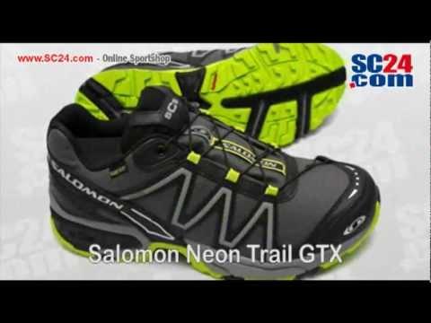 6edcd1cbe3e3 Salomon Neon Trail GTX Art Nr 29683 - YouTube