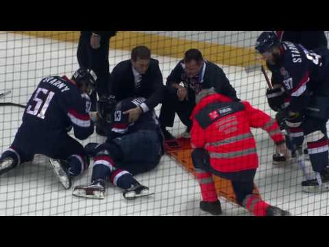 Nedorost gets seriously injured after Golyshev hit