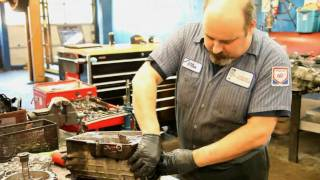 What is the difference between transmission repair and transmission rebuild