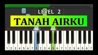 piano tutorial tanah airku - lagu wajib nasional