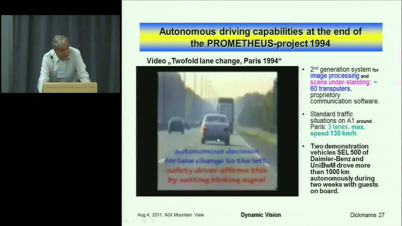 ROBOT CARS - autonomous vehicles - history of self-driving