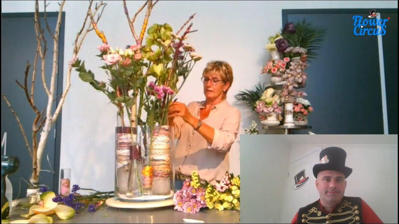 Wedding Arrangements by Tineke Geerlings: Flower Circus Online Show
