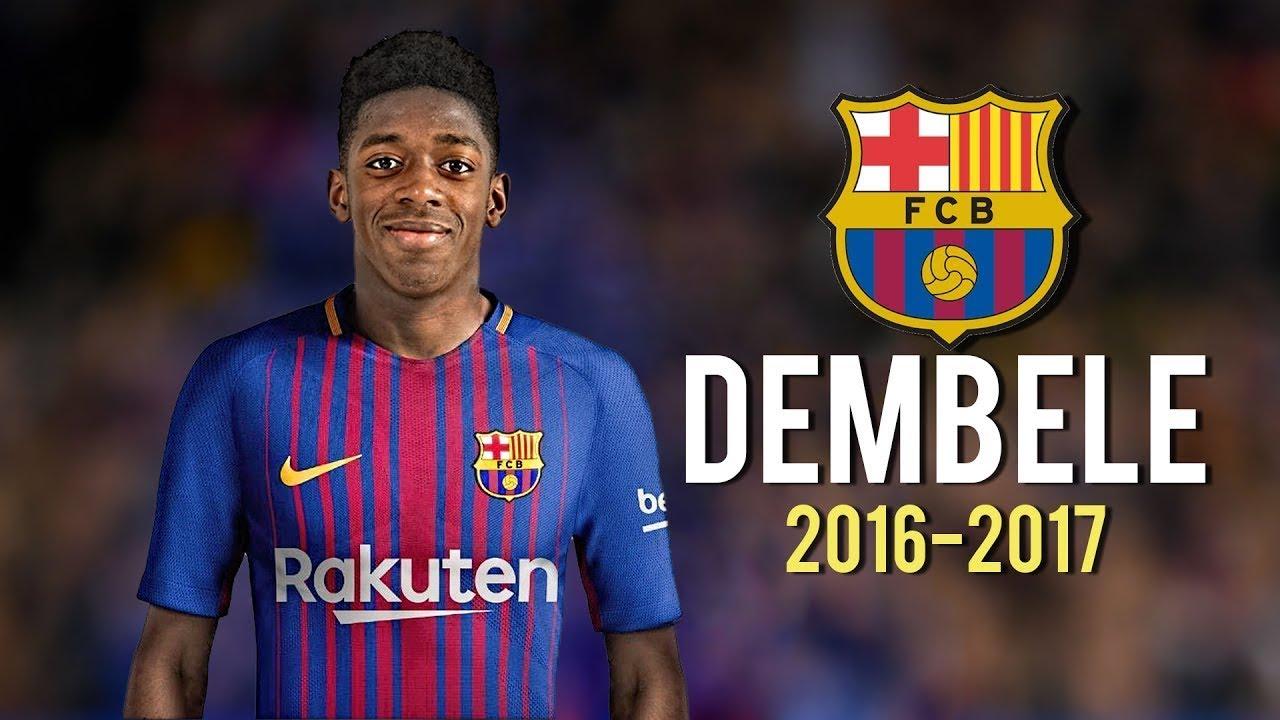 Dembele đá ở vị trí nào trong đội hình của Barca?
