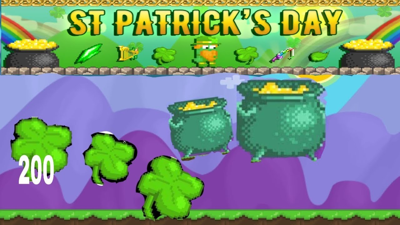 Villains were introduced on february 20, 2015. St.patrick event in growtopia | Get New Item? - YouTube