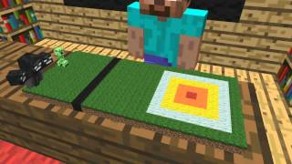 Monster School: Jumping (Minecraft Animation)
