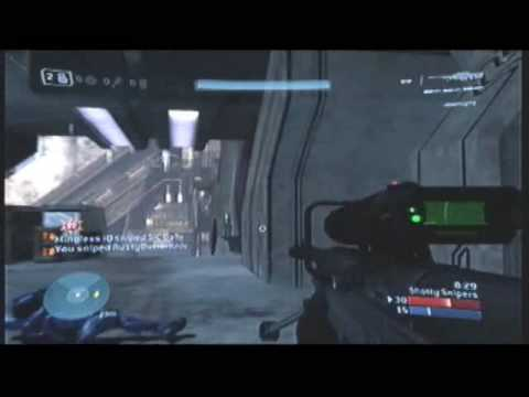 Halo 3 multi no scope montage  fearz no evil