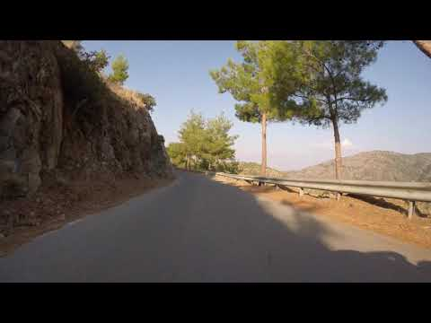 The Island of Cyprus Road Trip 4k - Vavatsinia - Machairas - Kapedes