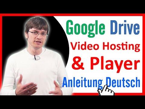Video Hosting & Videoplayer logofrei mit Google Drive - Nutze den Videoplayer von Google Drive