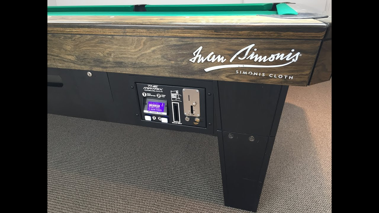 Now Available Bill Acceptor Conversion Kits For Diamond Smart - Diamond smart pool table