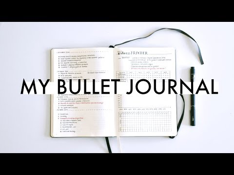 this is my bullet journal