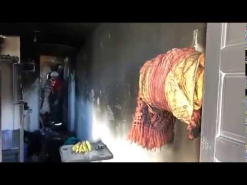 Incêndio em apartamento deixa dois feridos em Natal