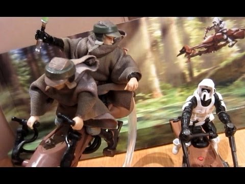 2012 Speeder Bike (Toys R Us Exclusive) Review
