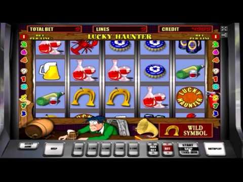 Обзор игрового автомата  Пробки (lucky Haunter) - бонусная игра, бесплатные спины