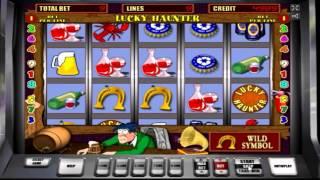 постер к видео Обзор игрового автомата  Пробки (lucky haunter) - бонусная игра, бесплатные спины