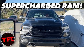 A First Look At The New 2021 RAM TRX SPIED Testing In The Wild!