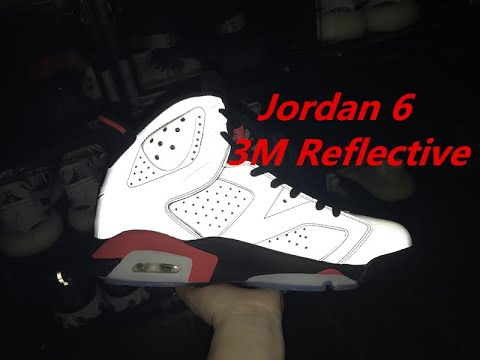 online store ab016 0122c Must see before you buy the jordan 6 3M reflective